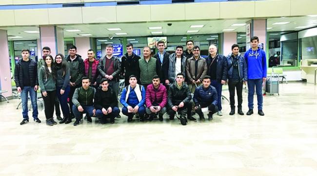 20 öğrenci Portekiz'de staj yaptı