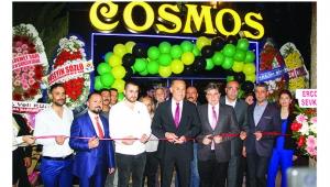Cosmos Cafe Bar açıldı