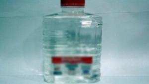 Su zannederek içti, tarım ilacı çıktı