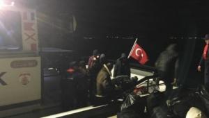 41 kaçak göçmen yakalandı!