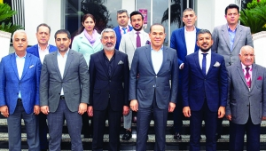 Başkan Sözlü Erkanlı öğrencilerle buluştu