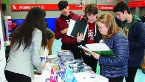 Erkan Koleji'nde üniversite tanıtım günleri