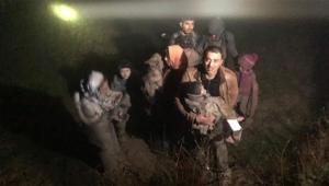 Jandarma mültecileri ölümden kurtardı