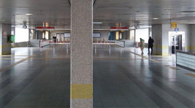 Metro istasyonunda bir kişi intihar etti