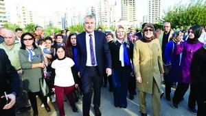 Seyhan'da 'Engelsiz' Park açıldı