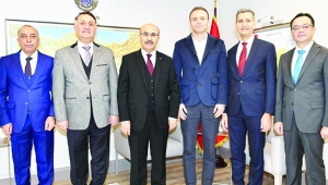 TSK Güçlendirme Vakfı Vali Demirtaş'ı ziyaret etti