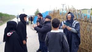Adana'da Suriyeliler kayıt altına alınıyor