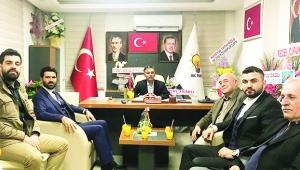 Akan'dan ilçe başkanlarına 'hayırlı olsun' ziyareti