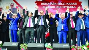 İşte Cumhur İttifakı'nın adayları