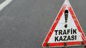 Trafik kazası: 1 ölü, 10 yaralı