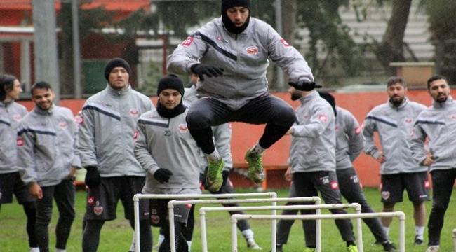 Adanaspor, Altay maçına son sürat hazırlanıyor