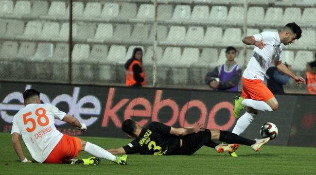 Adanaspor da yine hüsran:1-1