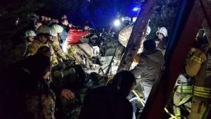 Askeri helikopter düştü: 4 askerimiz şehit oldu