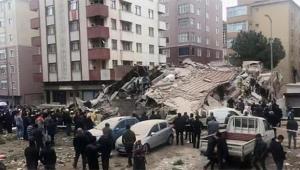 Çöken bina ile ilgili flaş açıklama