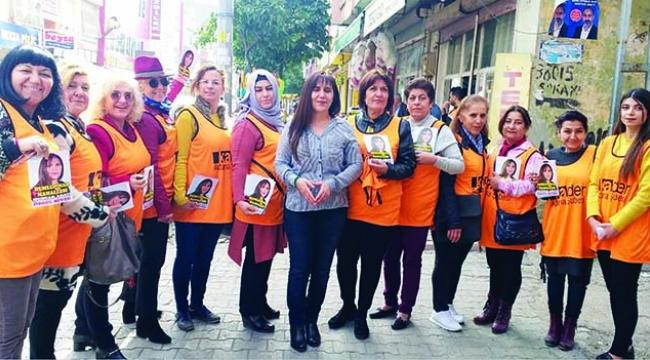 Kadın adaylar destek bekliyor