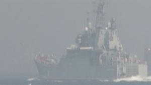 Rus savaş gemileri Türkiye'de