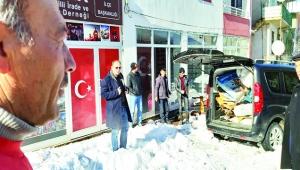 Tufanbeyli'de öğretmen ve öğrenciler 11 ton atık topladı