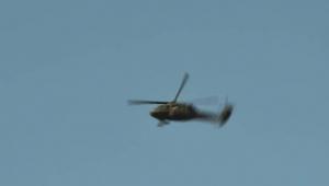 Turizm Bakanını taşıyan helikopter düştü