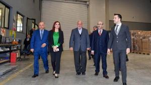 Vali Demirtaş'ın şirket ziyaretleri sürüyor
