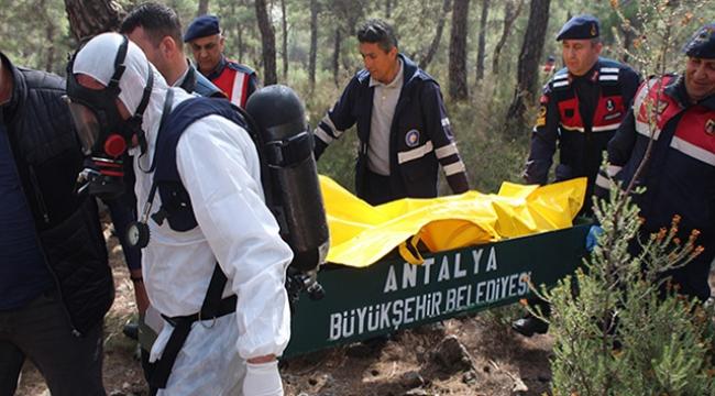 8 parça halinde bulunan cesedin kimliği tespit edildi