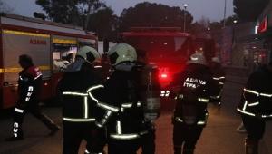 Adana Balcalı Hastanesi'nde yangın çıktı
