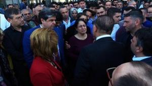 Başkan Sözlü, yaralıları hastanede ziyaret etti