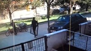 Böyle hırsızlık görülmedi:6 saniyede çaldı