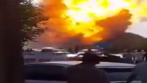 Büyük patlama çok sayıda ölü ve yaralı var