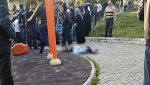 Çocuk parkında kanlı infaz