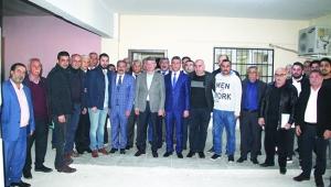Esnaf ve oda başkanları da Fikret Yeni'ye destek verdi