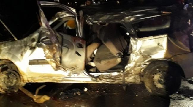 Feci kaza: 2 ölü,5 yaralı