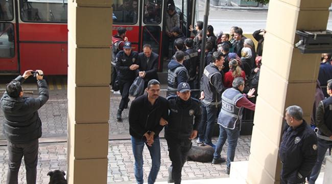 FETÖ zanlısı 54 eski polis adliyede