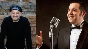 İki ünlü komedyen aynı albümde