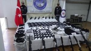 Kaçak silah üreten fabrikaya baskın: 46 gözaltı var