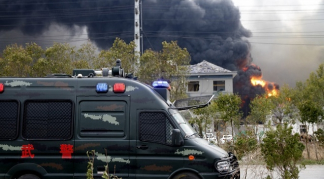 Kimya tesisinde patlama: 78 ölü