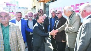Kozanlılar Derneği'nden Başkan Uludağ'a destek