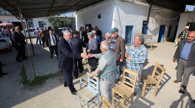 Saadet Partisi adayları Yumurtalık'ta
