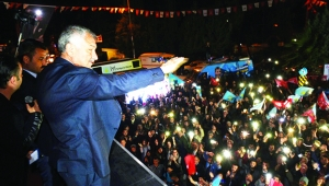 Sarıçam'da Millet İttifaki coşkusu