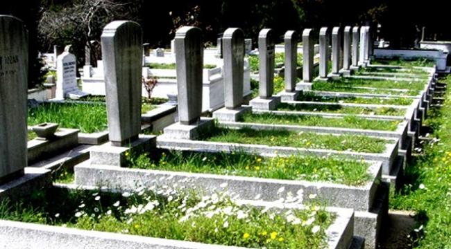 Ses gelen mezarı kazdılar, gömülen kişinin yaşadığı görüldü