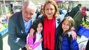 Şevkin, CHP'li adaylar için koşturuyor
