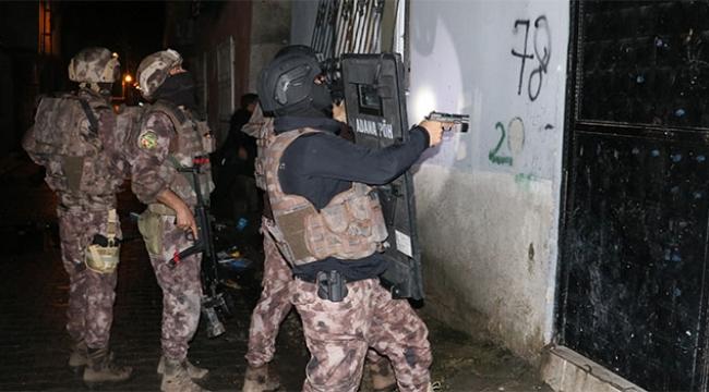 Sokak çetelerine operasyon