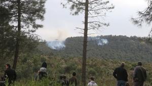 Şüpheli orman yangınında 10 dönümlük alan kül oldu