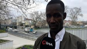 Taksiciden Senegalli turiste şok sözler