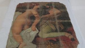 Tarihi eser kaçakçılarında ele geçirilen tablo, Picasso'ya mı ait?