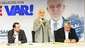 Temel Karamollaoğlu Adana'da