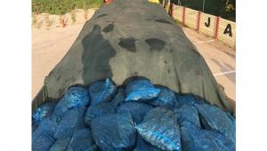 TIR'ın kasasında tam 24 ton kaçak...