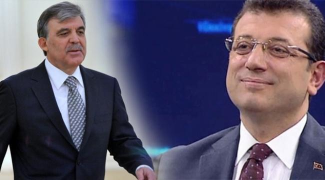 Abdullah Gül'ün seçim yorumuna İmamoğlu'ndan teşekkür