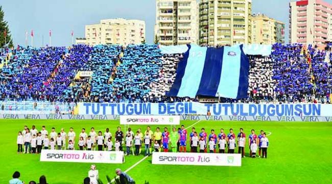 Adana Demirspor taraftarı derbi biletlerini 16 saniyede tüketti