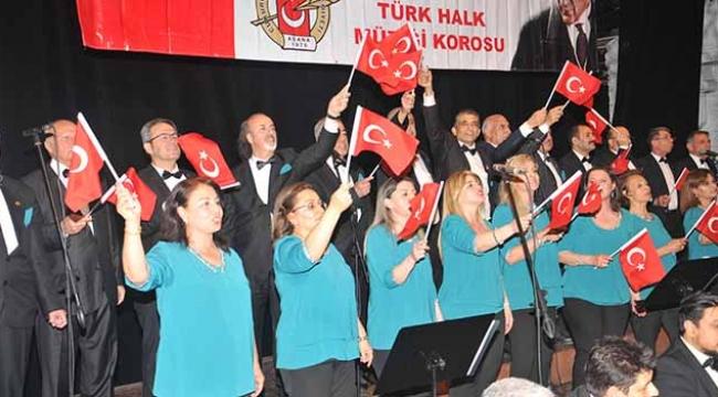 ÇGC Halk Müziği korosundan 'Bahara Merhaba' konseri