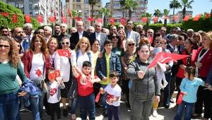 CHP'den coşkulu 23 Nisan kutlaması